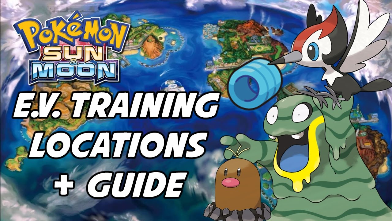 Pokemon Sun And Moon Ev Training Guide Best Places To Train In You
