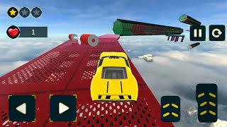 Taxi Car Stunts on Impossible Tracks New Stages  Gameplay By Droid Games 89