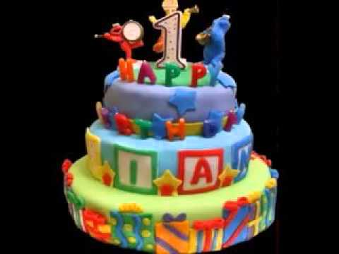 Creative First birthday cake design decorating ideas for boys