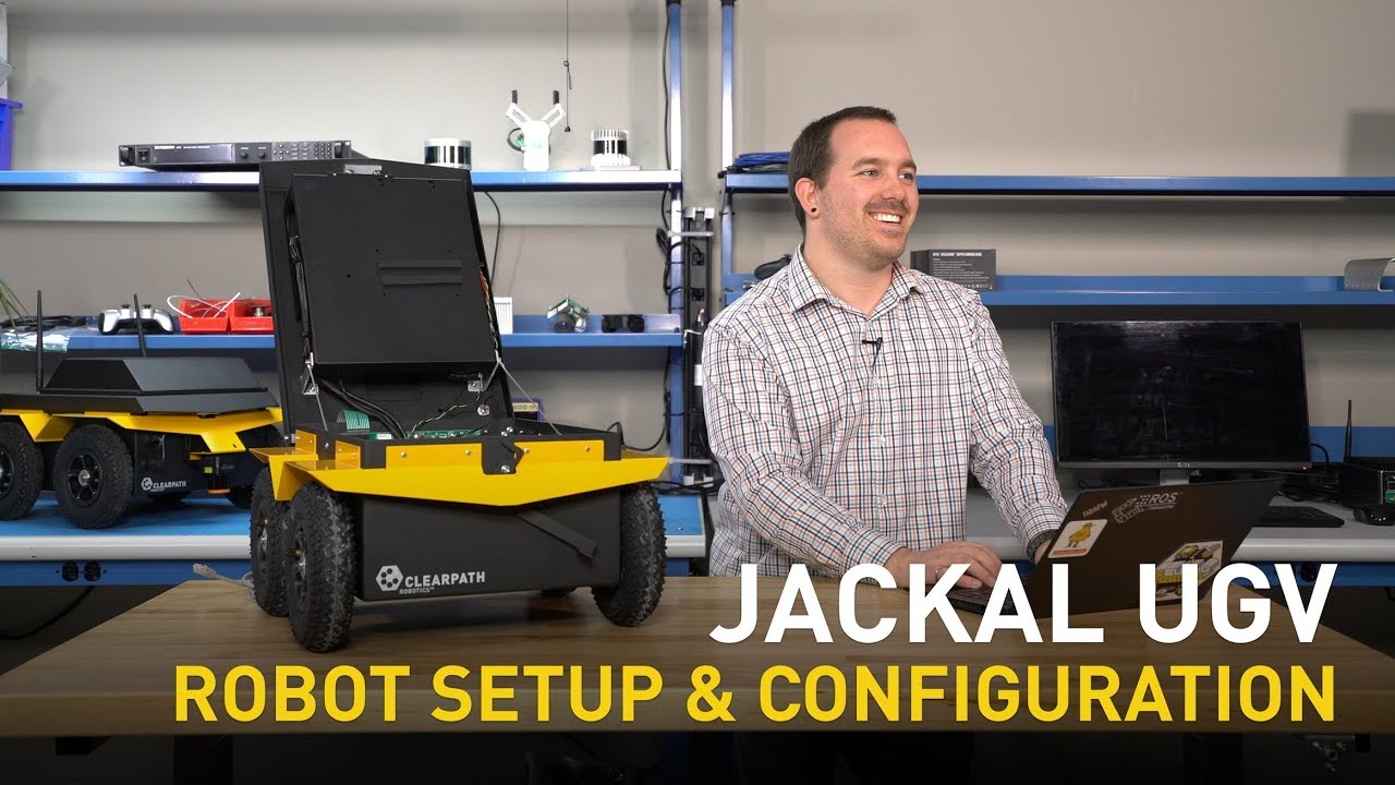 Jackal UGV   Robot Setup & Configuration