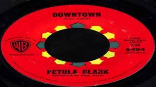 Petula Clark Downtown Original 45single 1965 Hd 720p