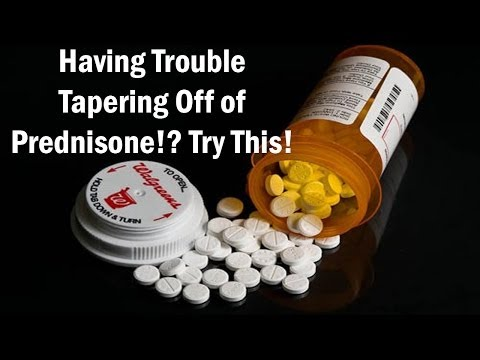 reversing the side effects of prednisone