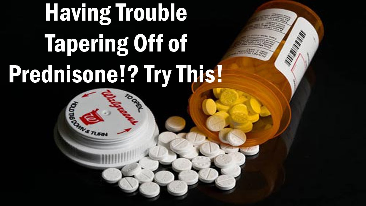 Prednisone 25 mg.doc - Having Trouble Tapering Off Of Prednisone Try This One Simple Technique Youtube