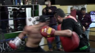 CHAMP FOR A REASON!! - A QUICK GLIMPSE INTO THE RAW POWER & SPEED OSCAR VALDEZ POSSESSES / iFL TV