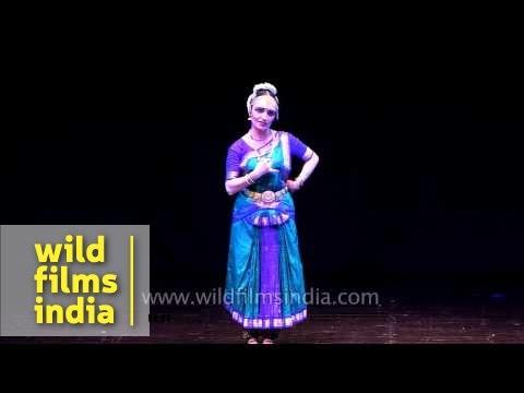 Russian dancer renders Bharatanatyam in India