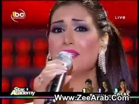 Rouwaida Attieh / رويدا عطية ,,shou sahl l 7aky,,  Star Academy 8 17 june 2011