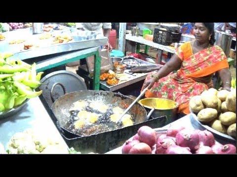 Fresh & Tasty Vegetable Fry Of Marina Beach, Chennai, Tamil Nadu, India | Indian Street Food Chennai