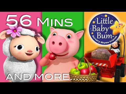 Nursery Rhymes Collection | Volume 9 | 56 Minutes Compilation from LittleBabyBum!