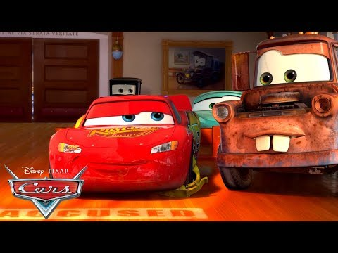 Lightning McQueen Goes to Court | Pixar Cars