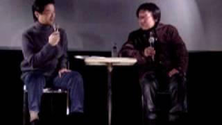 2003年12月6日,自由が丘武蔵野館での石井輝男監督トークショーです。