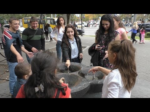 Yerevan,  21.10.18, Su, Video-1, (на рус.), Еревану 2800 лет, До Каскада.