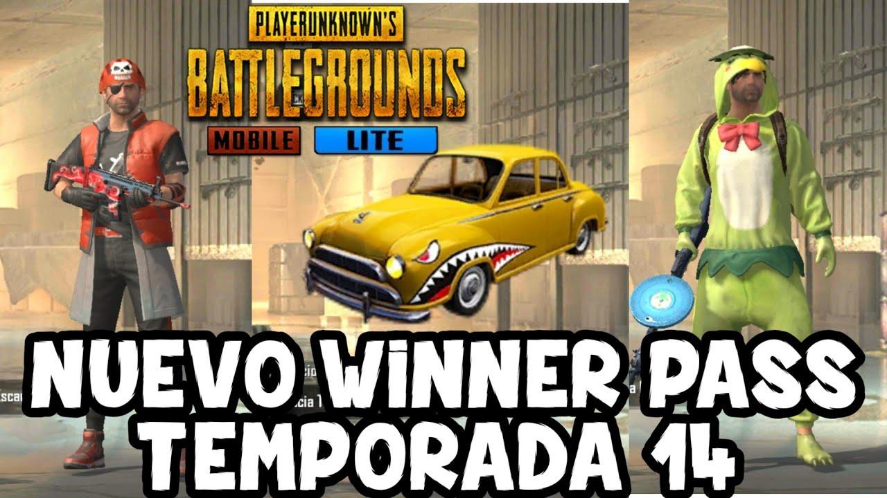 NUEVO WINNER PASS TEMPORADA #14 PUBG MOBILE LITE