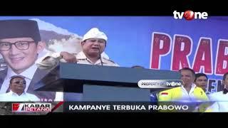 Pidato Kebangsaan Prabowo Pada Kampanye Terbuka di Denpasar, Bali