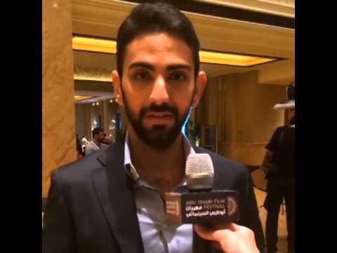 الموهوب فادي الرفاعي في مهرجان أبوظبي السينمائي