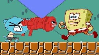 Funny mugen Gumball vs. MUGEN Characters! Again...