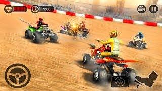 Quad Bike Crash Arena ATV Destruction Derby (by Tech 3D Games Studios) Android Gameplay FHD