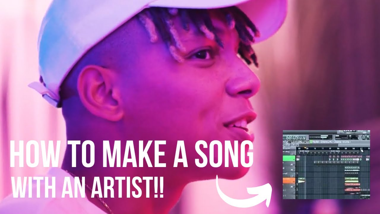 HOW TO MAKE A SONG WITH AN ARTIST FOR BEGINNERS  (Studio Session