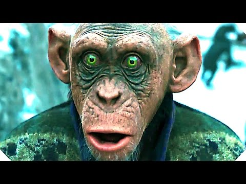 WAR FOR THE PLANET OF THE APES Trailer # 3 - New Movie 2017