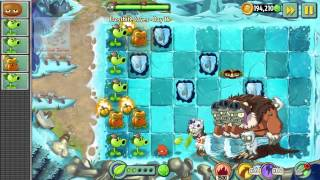 Plants vs Zombies 2 Frostbite Caves Day 16 Frostbite Caves Key and Bonus Music