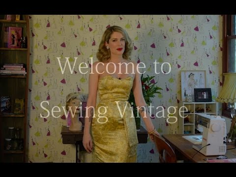 Welcome to Sewing Vintage!