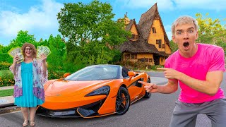 DID MYSTERY NEIGHBOR ELLEN STEAL the GOLD and BUY A MCLAREN?!
