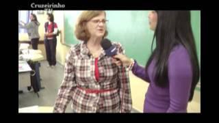 Escola Josefina Zilia de Carvalho no Cruzeirinho Na TV