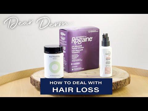 how-to-deal-with-hair-loss-|-dear-derm-|-well+good
