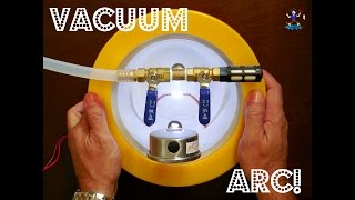 High Voltage Vacuum Chamber Experiment