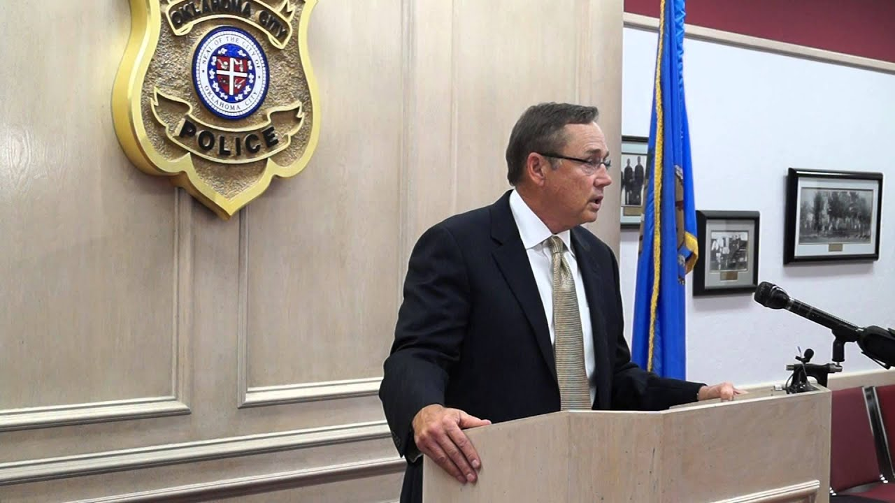 Chief City and DA Prater's Press Conference Regarding Officer's