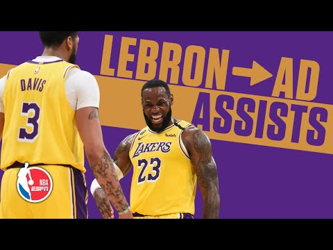 LeBron James' passes to Anthony Davis have been ridiculous | NBA Highlights
