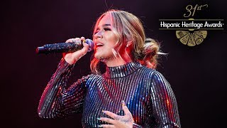 "LIVE! Karol G Performs ""Lo Sabe Dios"" - 31st Hispanic Heritage Foundation"
