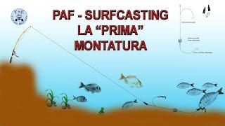5 Montature BEACH 07 FONDO TRAVI SURFCASTING