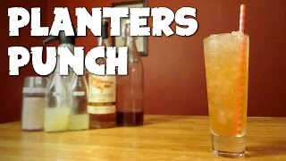 Planters Punch - the Classic Dark Rum Cocktail