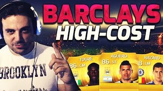 FIFA 15 | BARCLAYS HIGH COST |Ultimate team| DoctorePoLLo