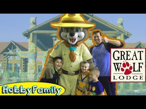 Quest At Great Wolf Lodge Vacation El Texas Fun Hobbykids Trip Hobbyfamilytv