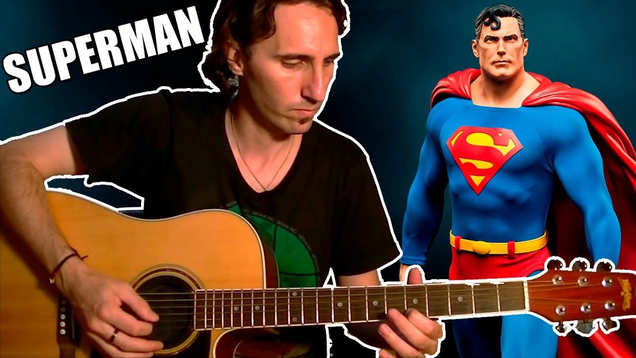 play the superman theme song