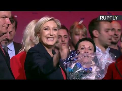 EN DIRECT : Grand meeting de fin de campagne de Marine Le Pen à Marseille