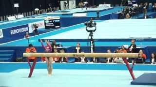 Чемпионат Европы по Спортивной гимнастике (финал - 21.04.2013) - 1 часть(Чемпионат Европы по Спортивной гимнастике, финал, Москва, Олимпийский., 2013-04-23T22:41:16.000Z)