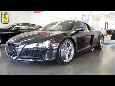 2009 Audi R8 4.2 6-spd Start Up, Exhaust, and In Depth Tour