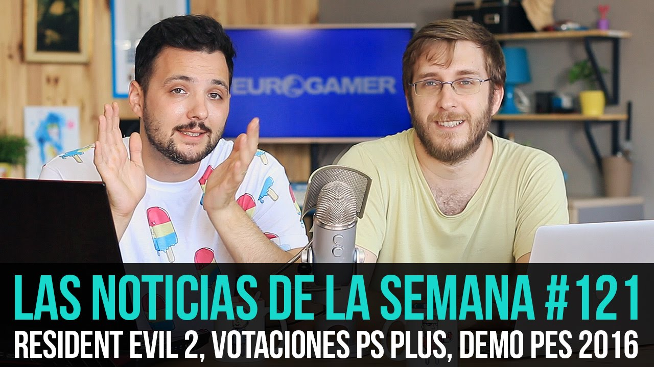 ¡La semana en 10min #121! Resident Evil 2 Remake, Mods The Witcher 3, Demo PES 2016...