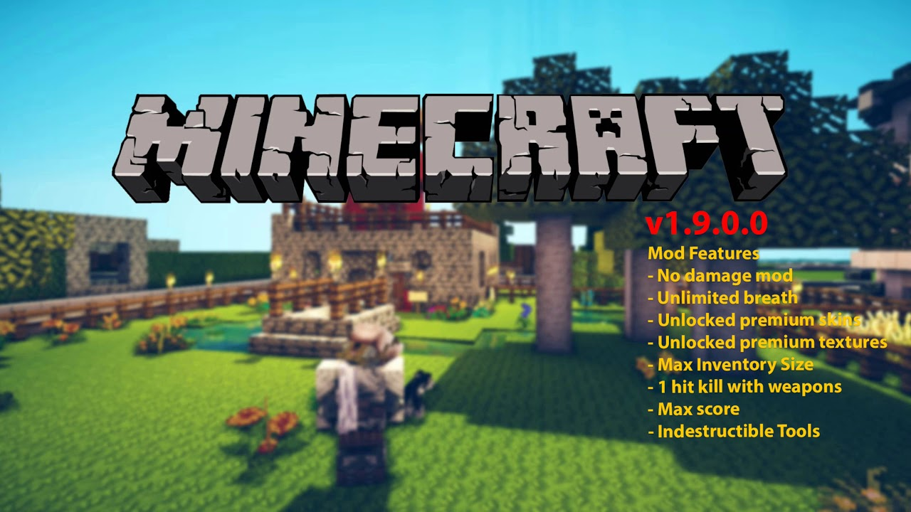 Minecraft – APK MOD v1.9.0.0  #Smartphone #Android