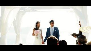 SANTORINI - Le Ciel - P&T beautiful wedding day in Greece