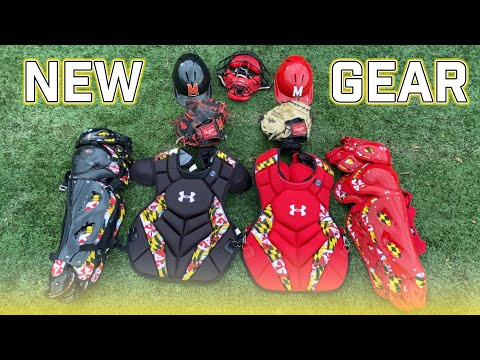 New Custom Maryland Catcher's Gear!