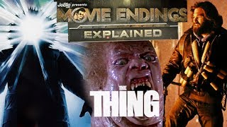 the thing 1982 alternate ending