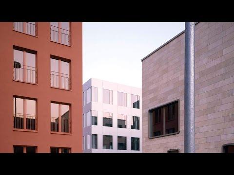 "MVRDV created an ""office village"" with UPV Munich complex, says Jacob van Rijs"