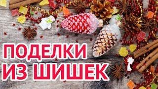 Поделки из шишек своими руками на новый год