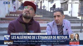 En Algérie, certains expatriés reviennent pour vivre la contestation