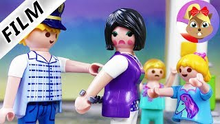Playmobil Film polski | Wredna NAUCZYCIELKA? Nakryta przez policję z Playmobil City | Serial