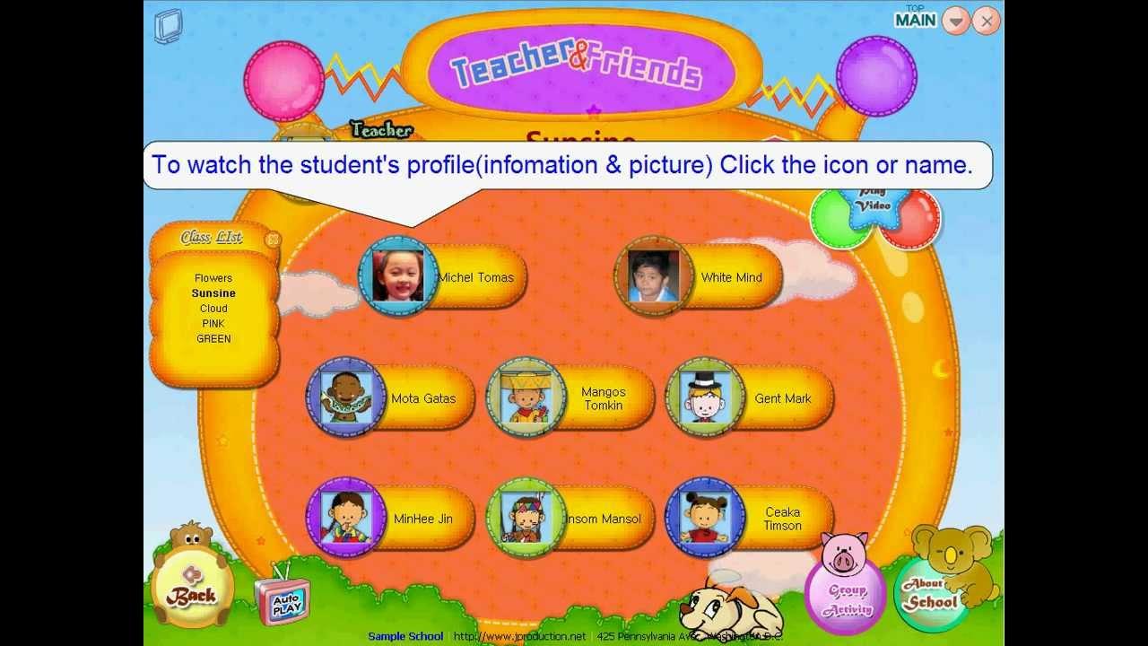 02 jnp kindergarten photo activity album class student selection page view