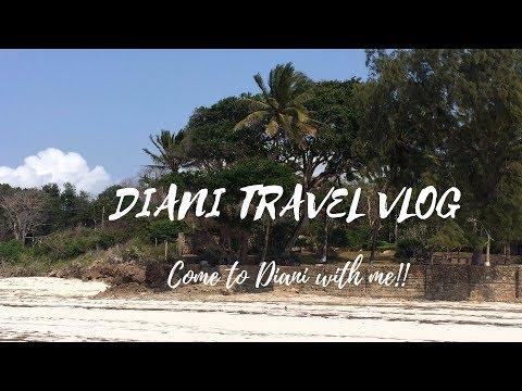 Diani Travel Vlog| South Coast, Kenya